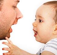 baby sprechen ab wann babys sprechen lernen wie beibringen. Black Bedroom Furniture Sets. Home Design Ideas