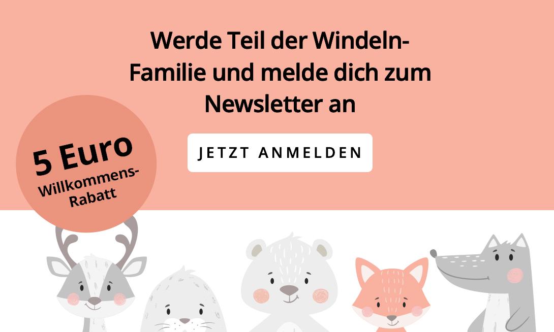 Newsletter Anmeldung windeln.de