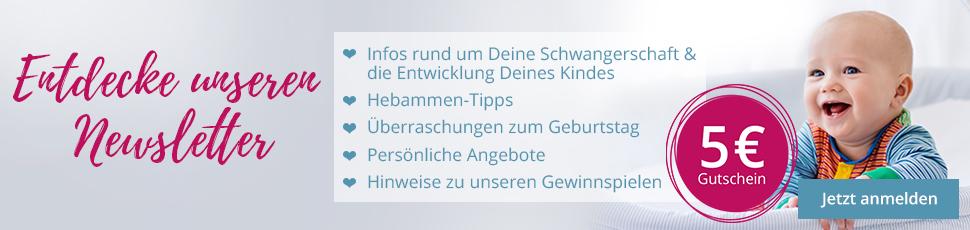 Banner zum windeln.de-Newsletter