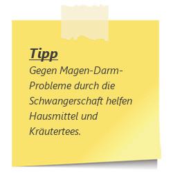 Tipp zur SSW 16: Magen-Darm-Probleme