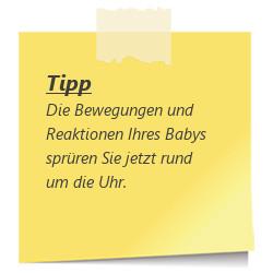 Tipp zur SSW 23: Bewegungen des Babys