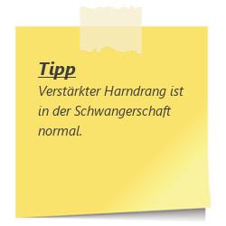 Tipp zur SSW 25: Harndrang