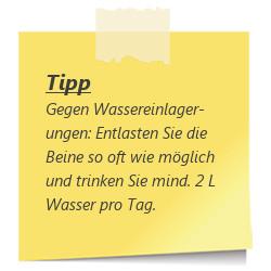 Tipp zur SSW 27: Wassereinlagerungen