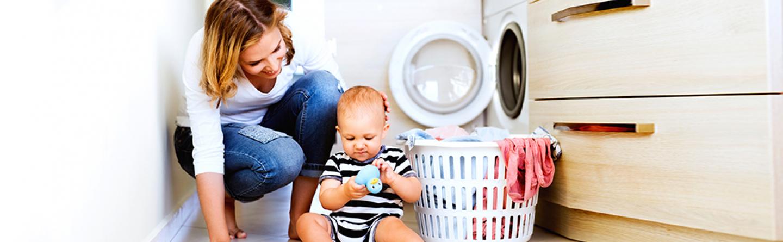 8ab3ee7e3ab2e7 Babykleidung richtig waschen » Was muss man beachten